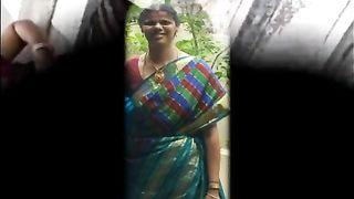 साड़ी में हॉट तमिल मौसी शुभम सेक्स वीडियो